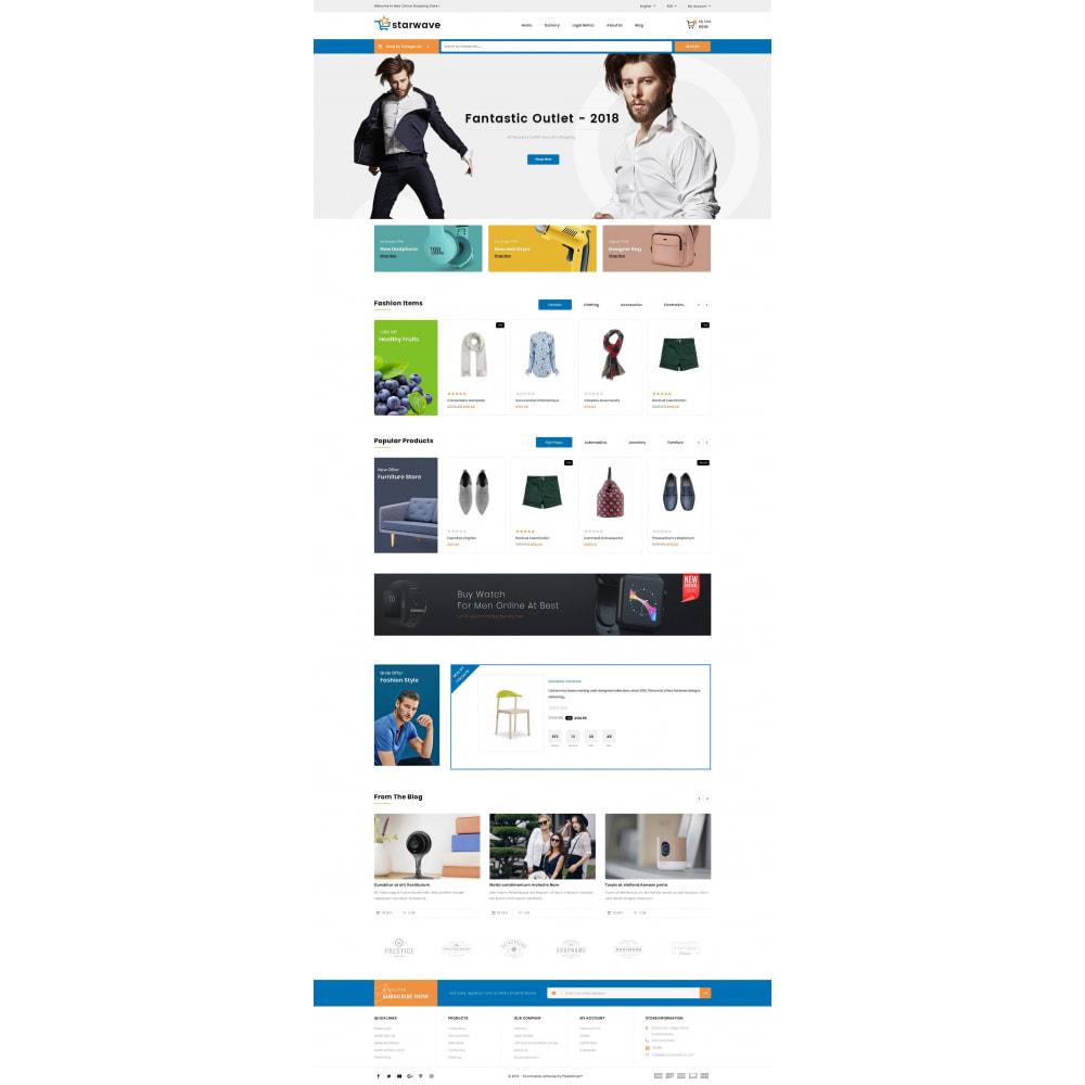 theme - Fashion & Shoes - Starwave - Multipurpose Store - 2