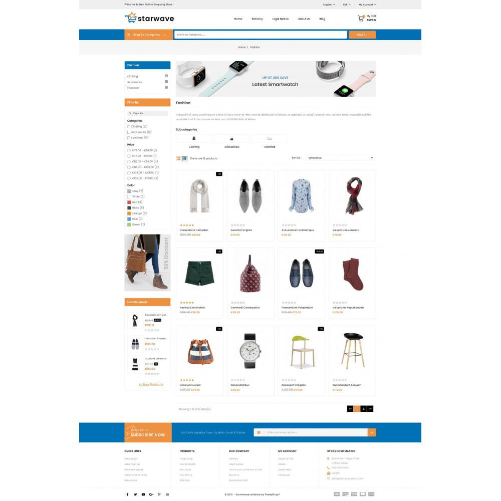 theme - Fashion & Shoes - Starwave - Multipurpose Store - 3