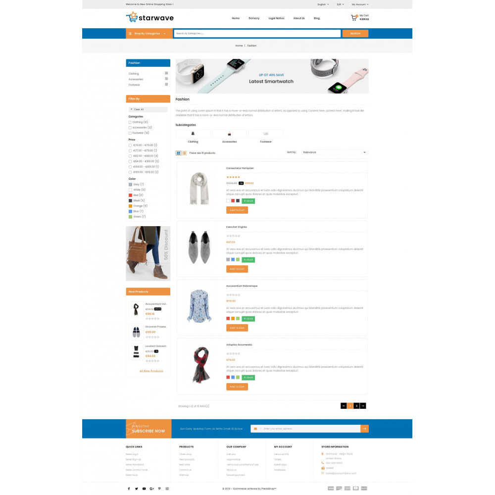 theme - Fashion & Shoes - Starwave - Multipurpose Store - 4