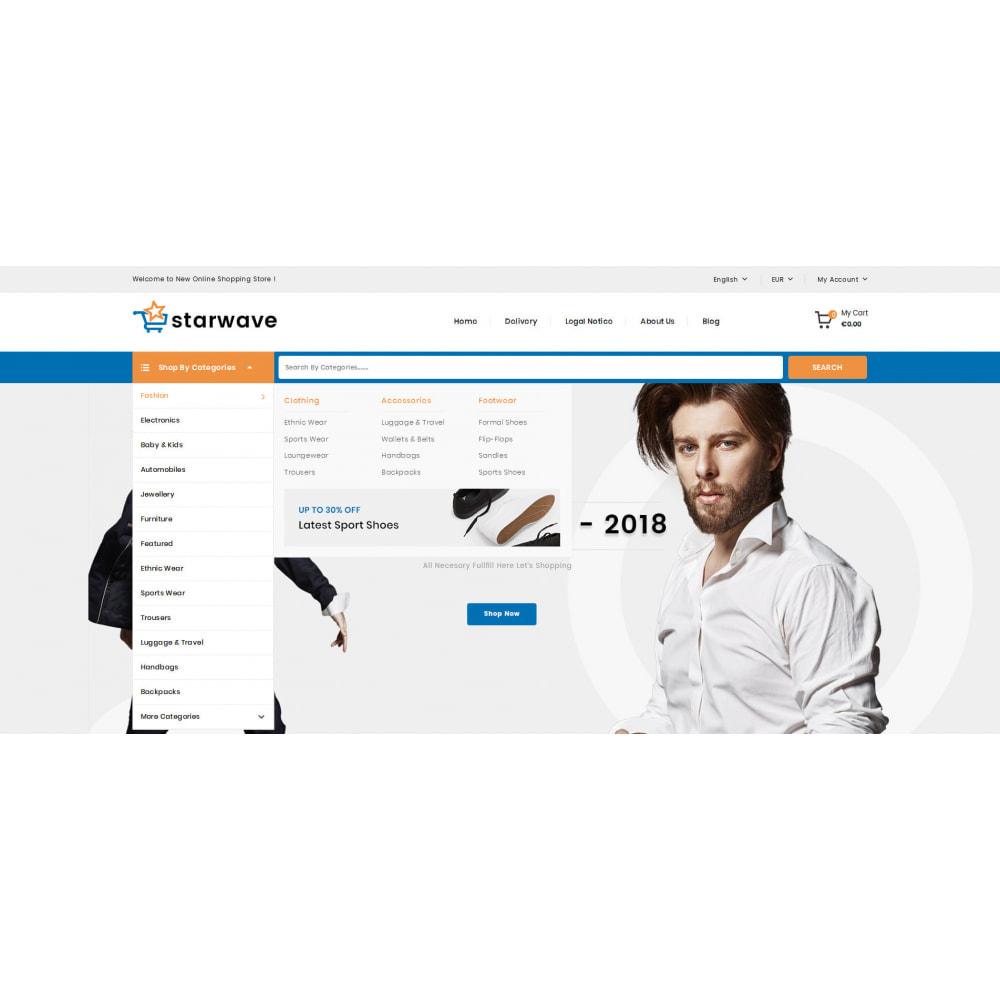 theme - Fashion & Shoes - Starwave - Multipurpose Store - 6