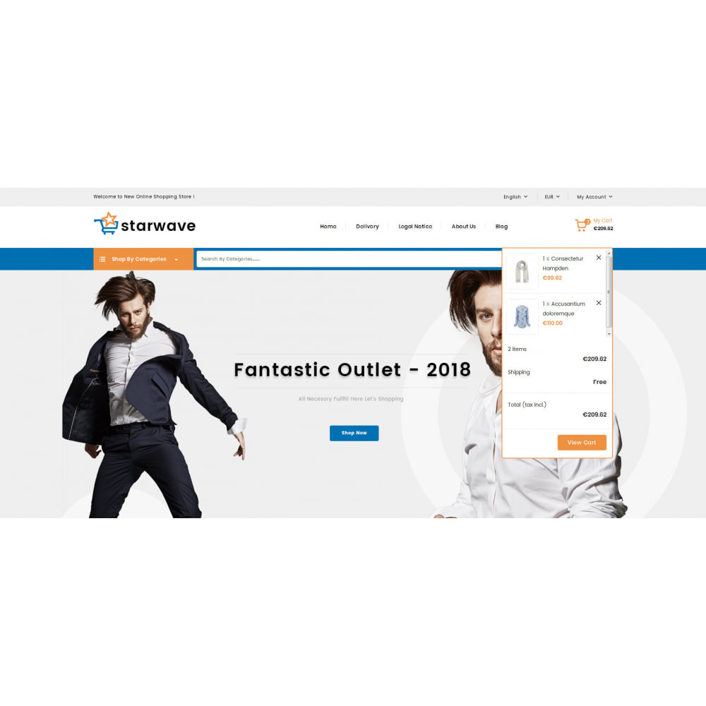 theme - Fashion & Shoes - Starwave - Multipurpose Store - 8
