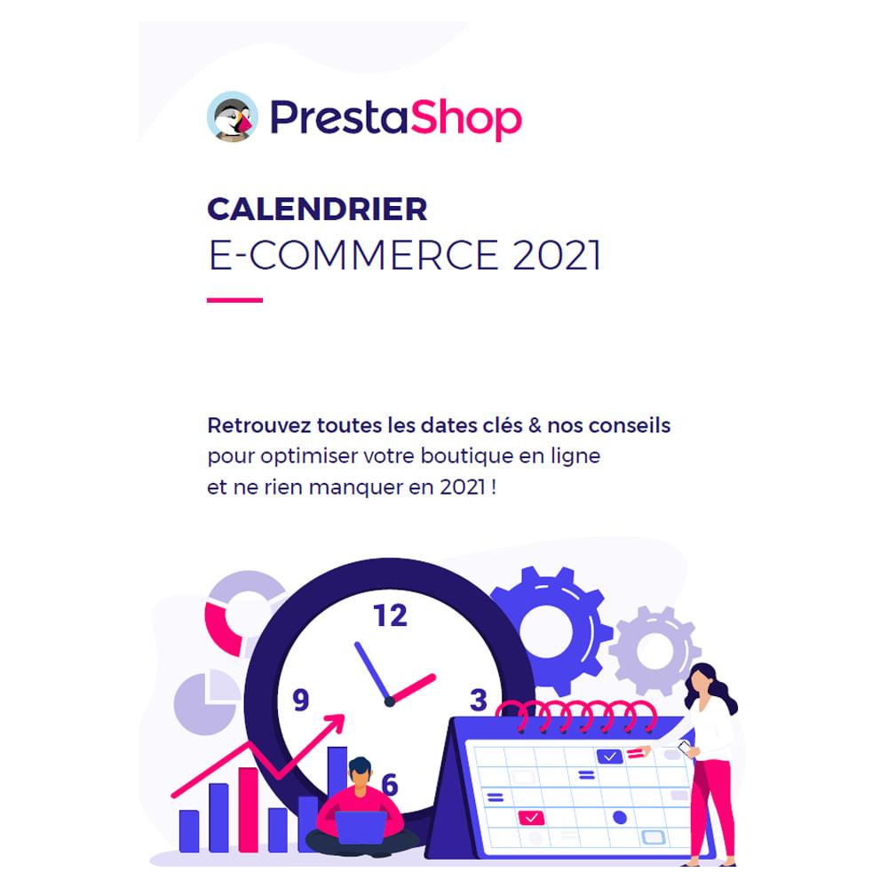 other - Calendario e-Commerce - Calendario de comercio electrónico 2021 (francés) - 1