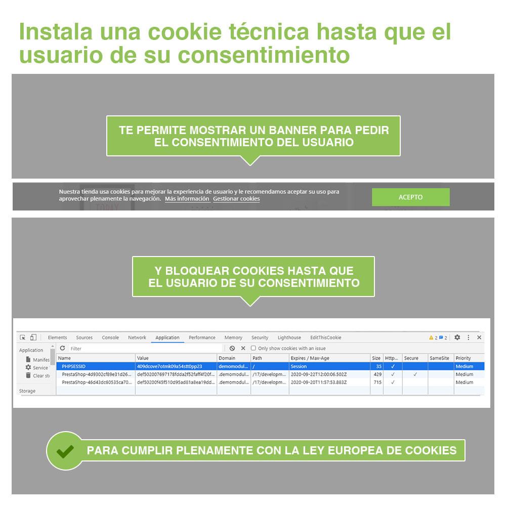 module - Marco Legal (Ley Europea) - Ley de Cookies RGPD (Aviso + Bloqueador) - Nuevo 2021 - 3