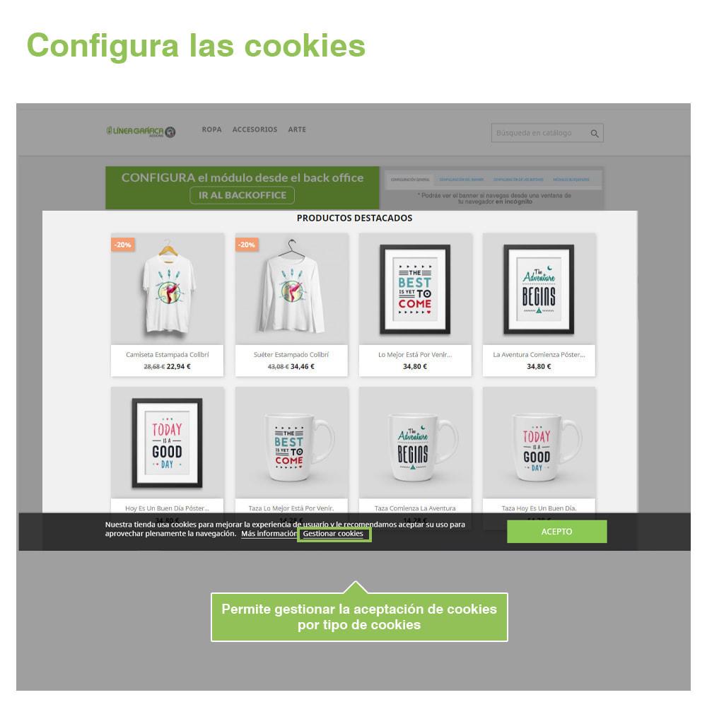 module - Marco Legal (Ley Europea) - Ley de Cookies RGPD (Aviso + Bloqueador) - Nuevo 2021 - 4