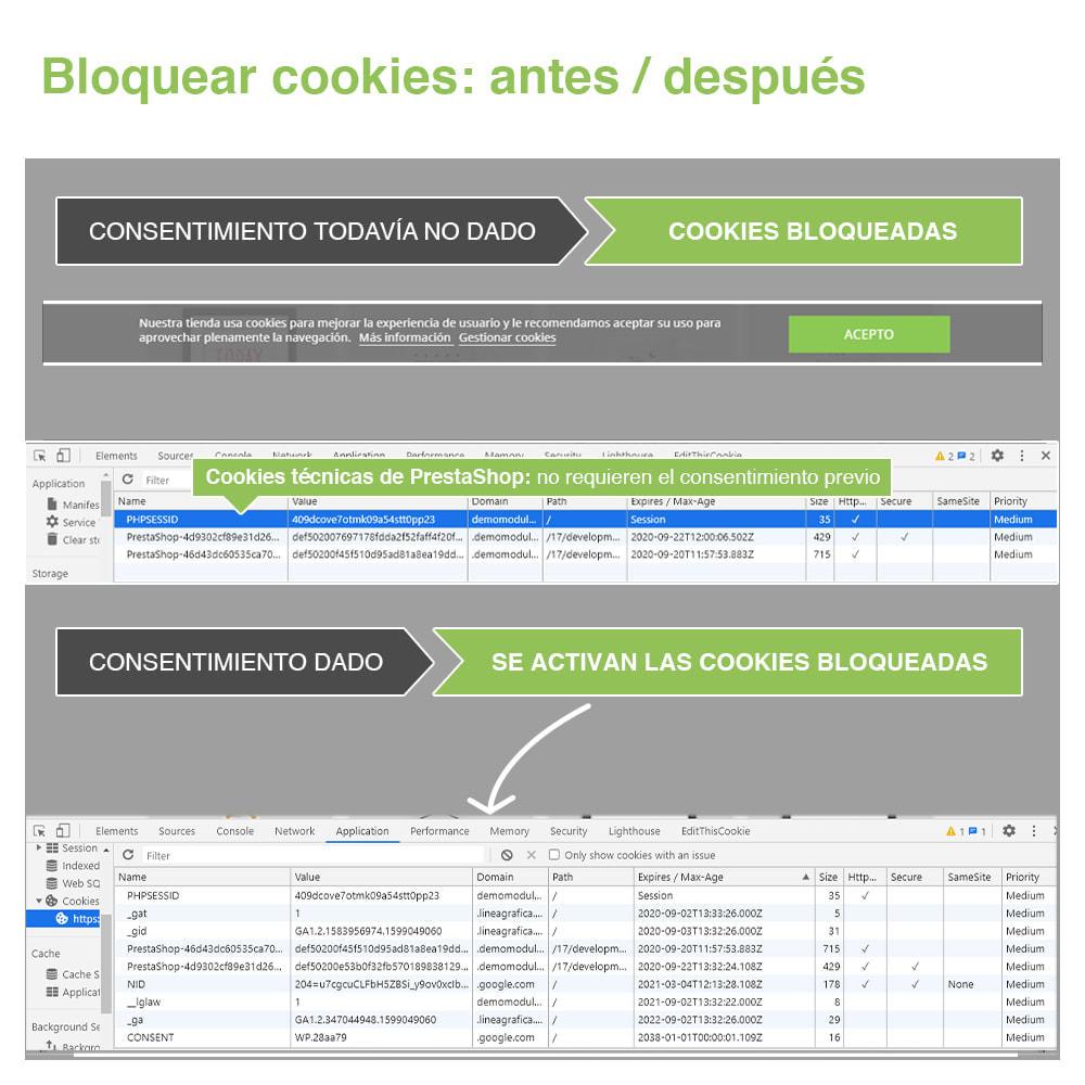 module - Marco Legal (Ley Europea) - Ley de Cookies RGPD (Aviso + Bloqueador) - Nuevo 2021 - 19