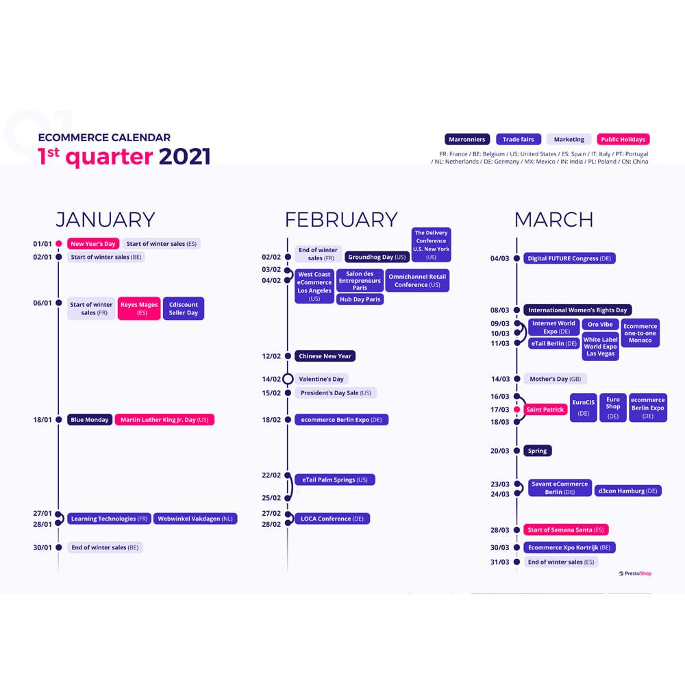 other - e-Commerce Calendar - 2021 e-commerce calendar (English) - 2