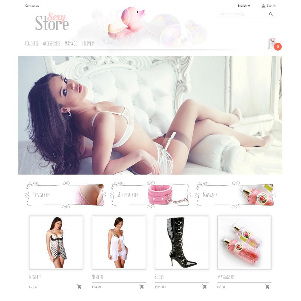 theme - Нижнее белье и товары для взрослых - Sexy Store - 2