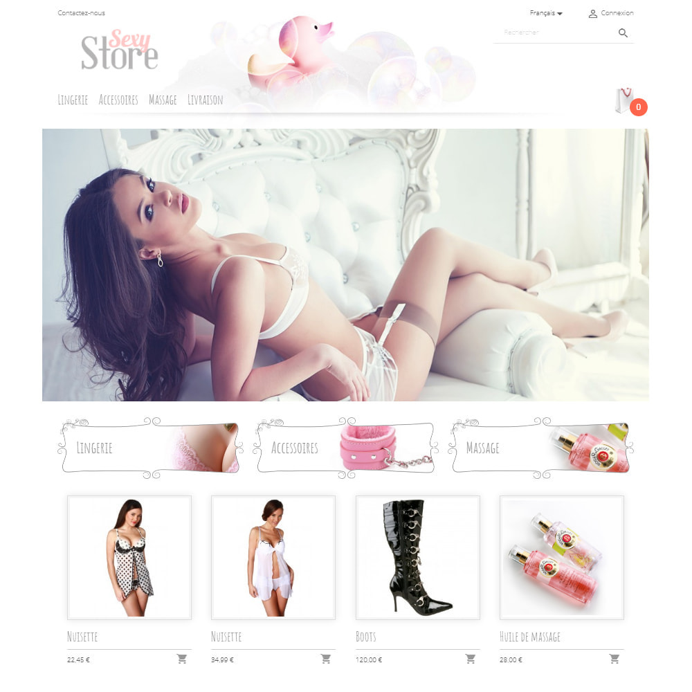 theme - Lingerie & Adulte - Sexy Store - 2