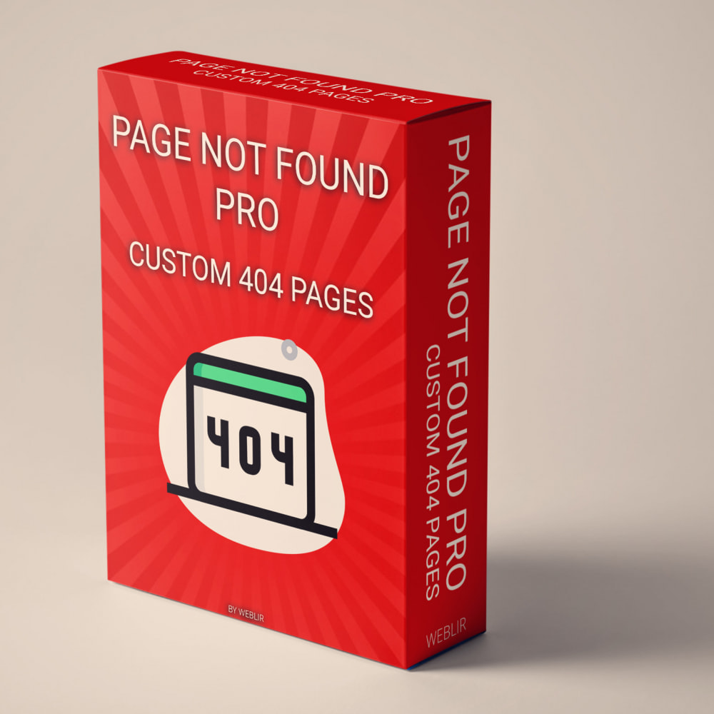 module - Инструменты навигации - Page not found Pro - Custom 404 pages - 1