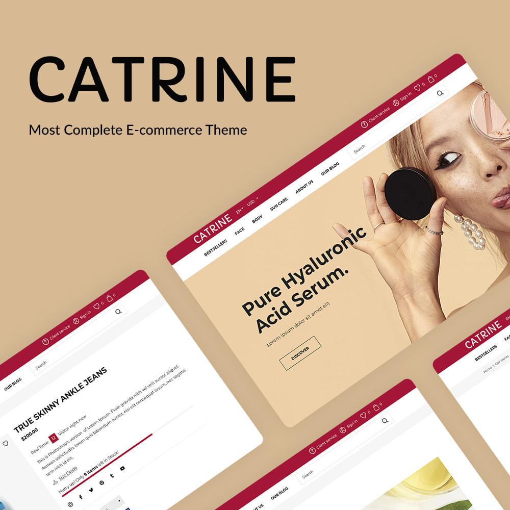 theme - Salud y Belleza - Catrine Cosmetics - 1