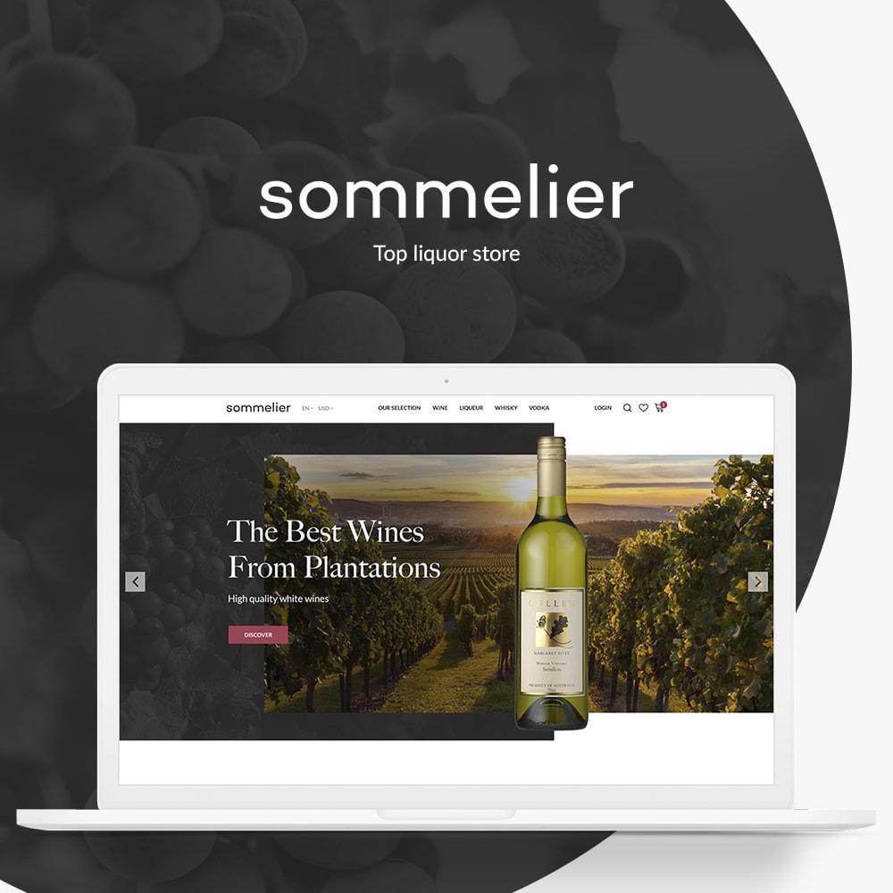 theme - Напитки и с сигареты - Sommelier - 1