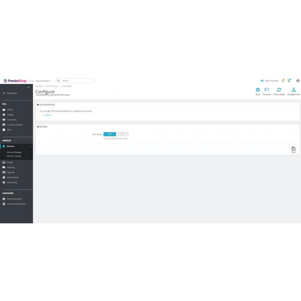 module - Größen & Einheiten - Accessible Font Sizing - 2