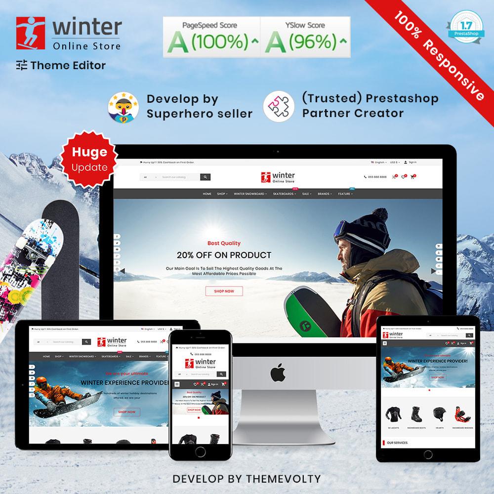 theme - Sport, Activiteiten & Reizen - Winter Skateboard–Bike & Travel–Sport Shop - 1