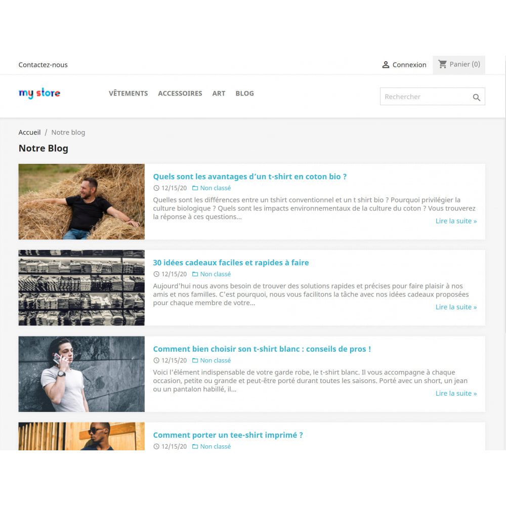 module - Blog, Forum & Actualités - WordPress Intégration - 4
