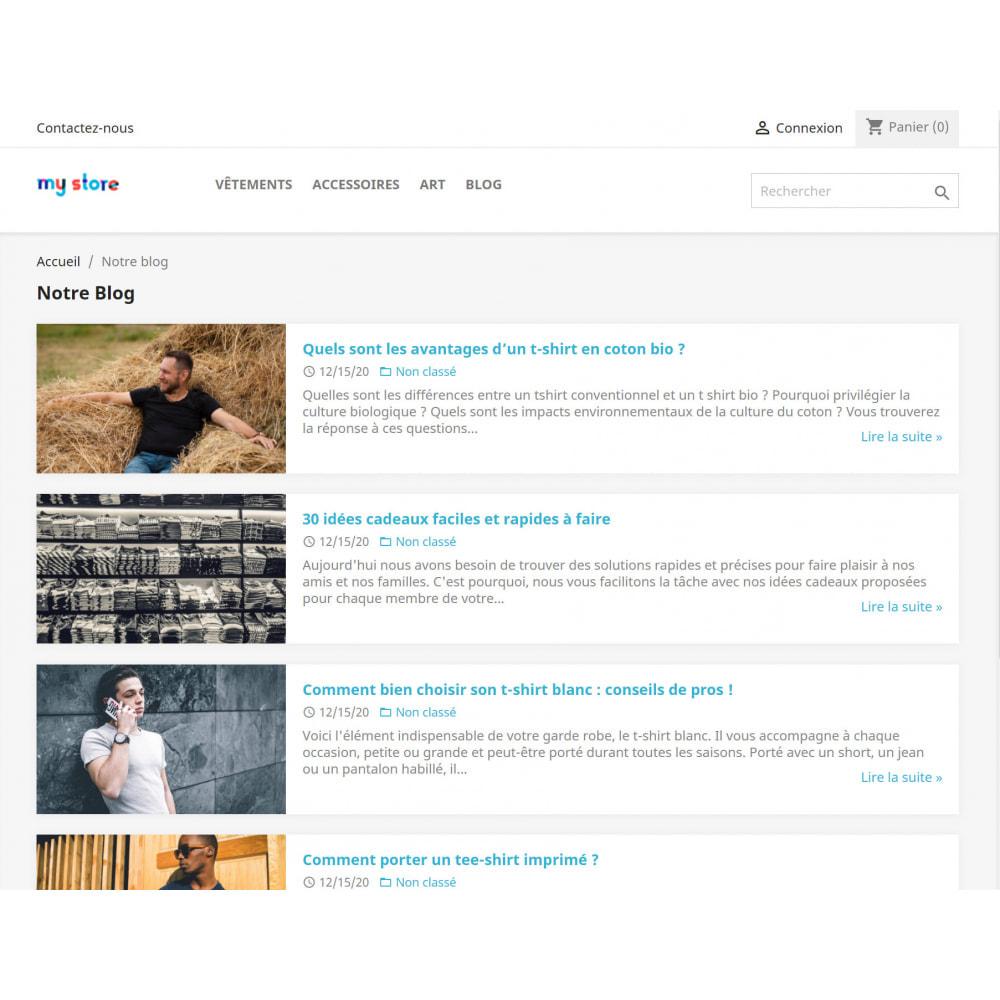 module - Blog, Forum & News - WordPress Integration - 4