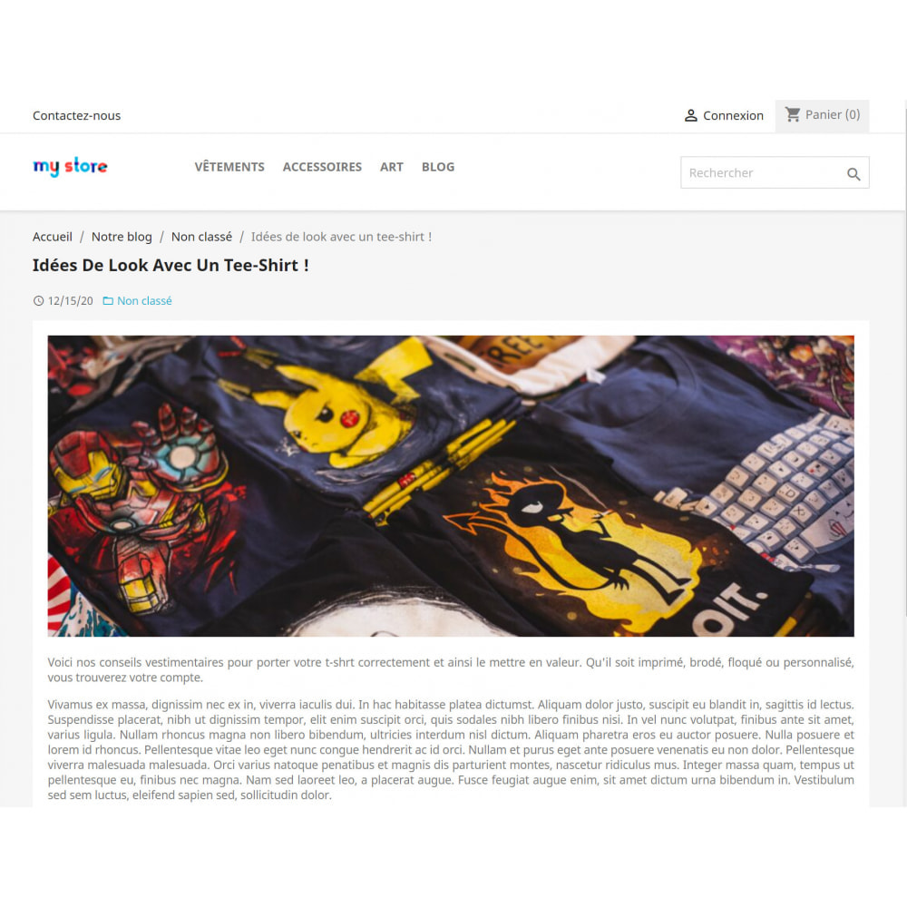 module - Blog, Forum & News - WordPress Integration - 5