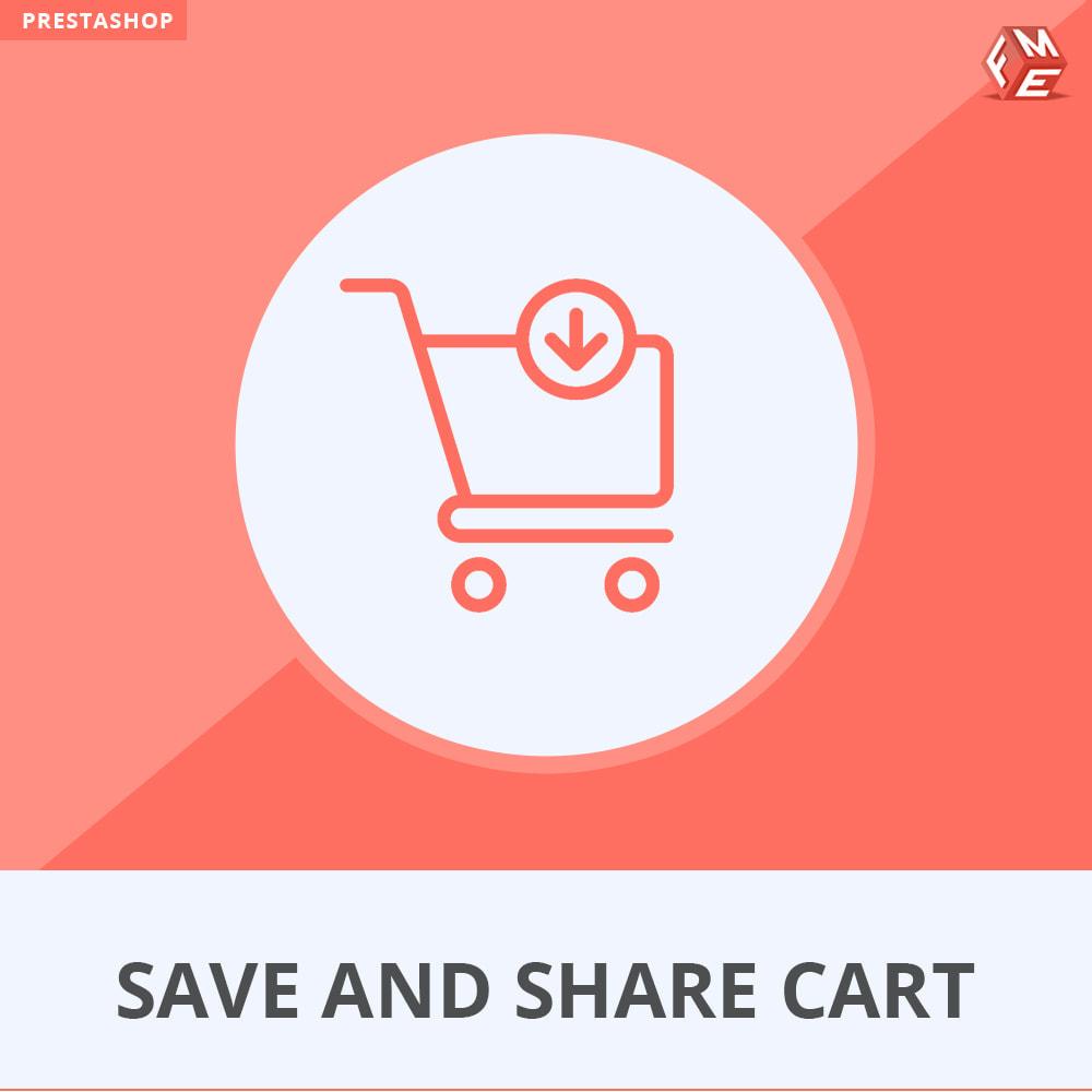 module - Cadastro e Processo de Pedido - Save and Share Cart - 1