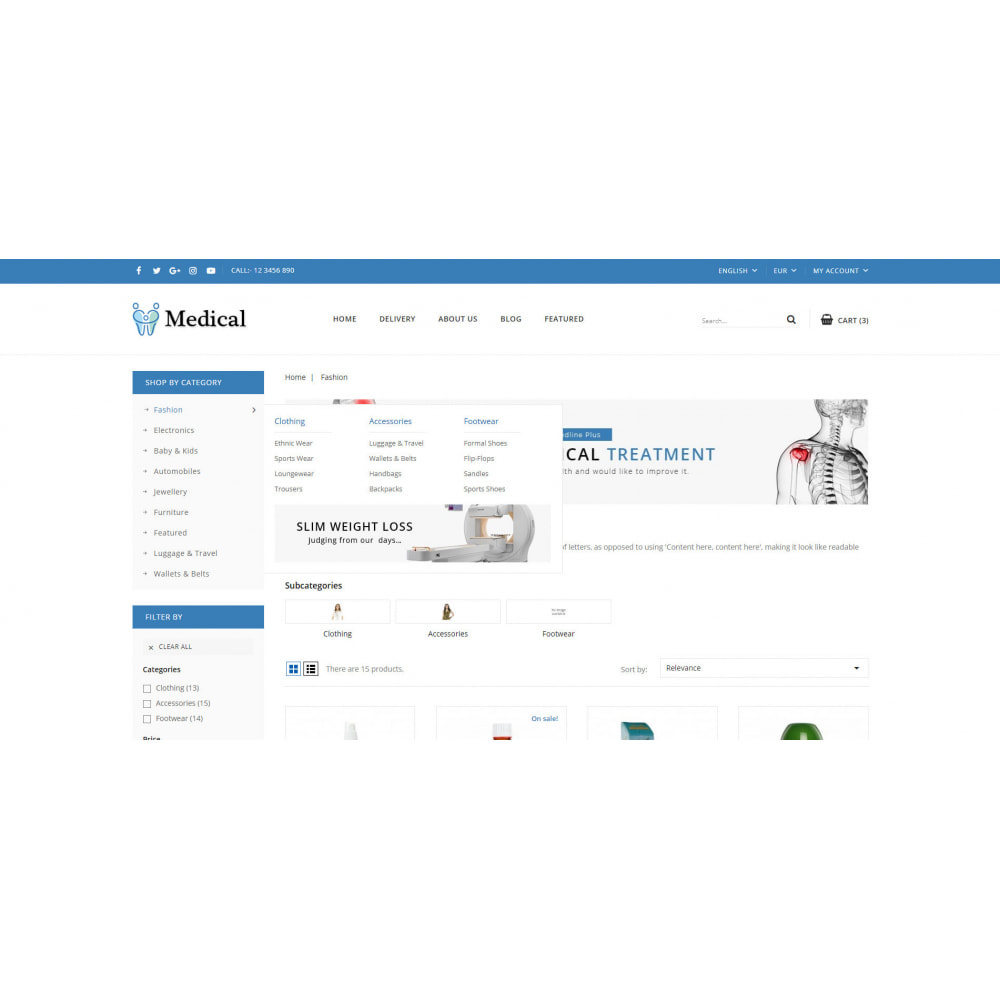 theme - Health & Beauty - Medical Store - 8