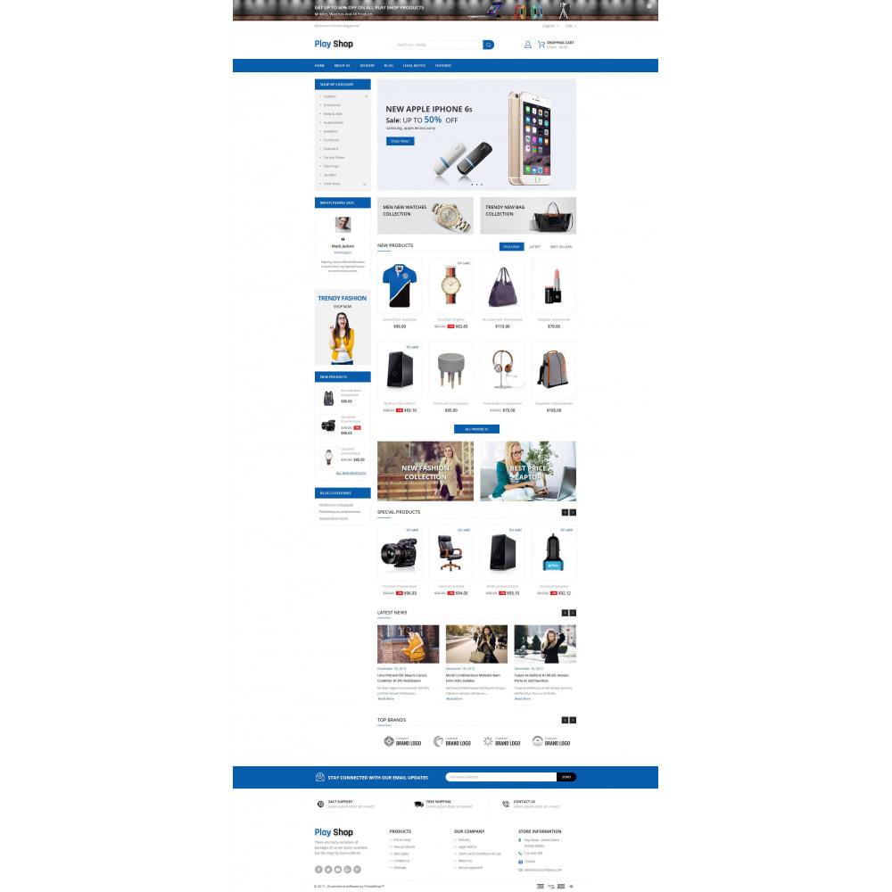 theme - Fashion & Shoes - PlayShop - Multipurpose Store - 2