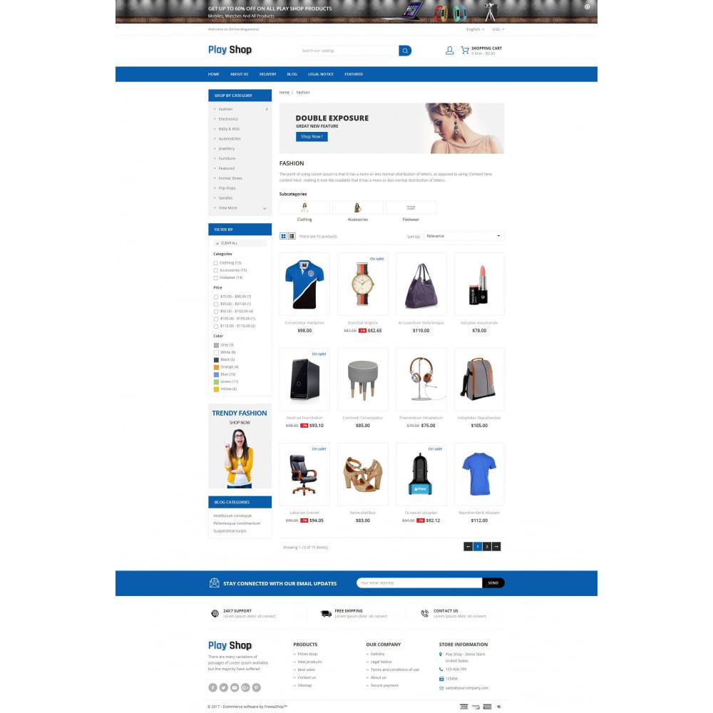 theme - Fashion & Shoes - PlayShop - Multipurpose Store - 3