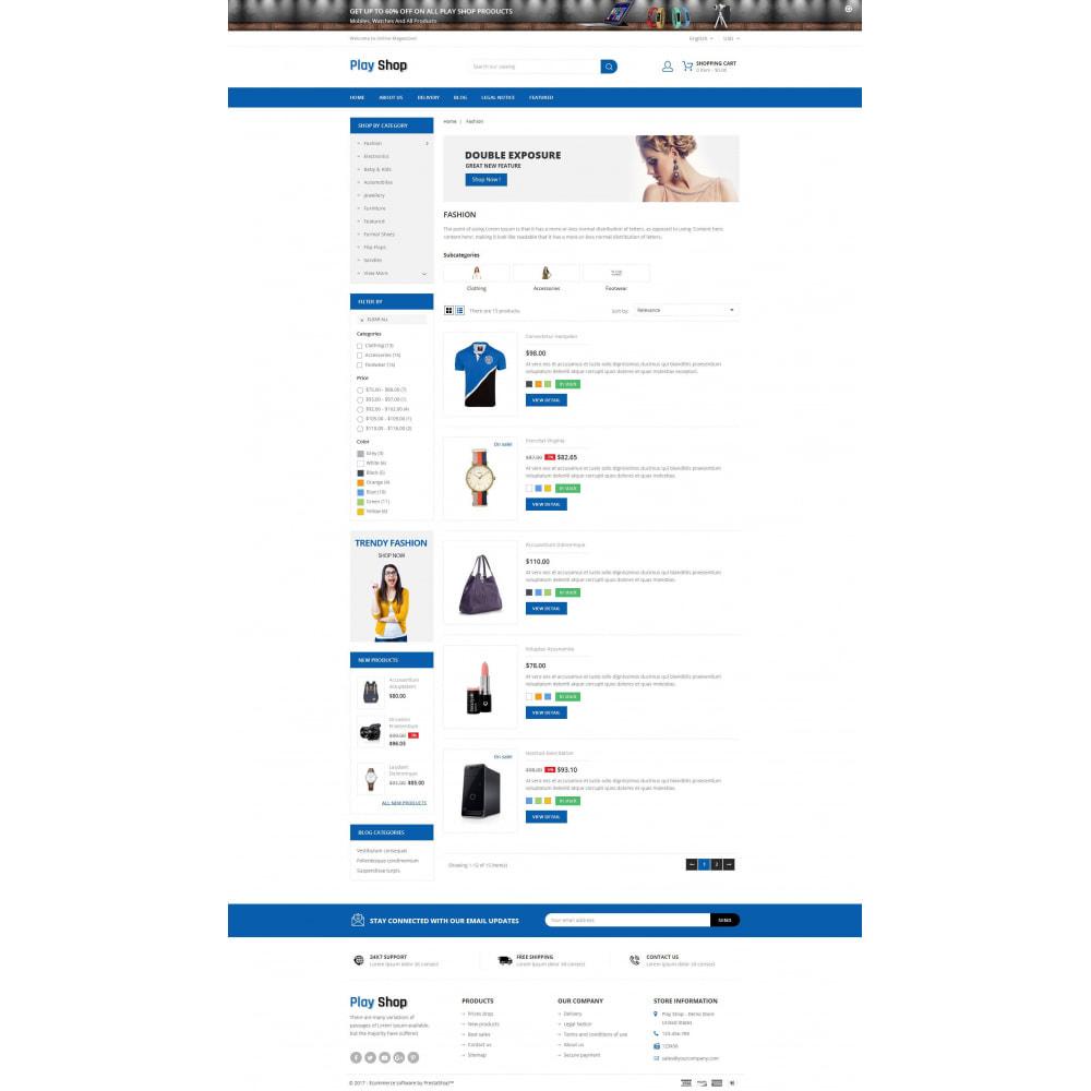 theme - Fashion & Shoes - PlayShop - Multipurpose Store - 4