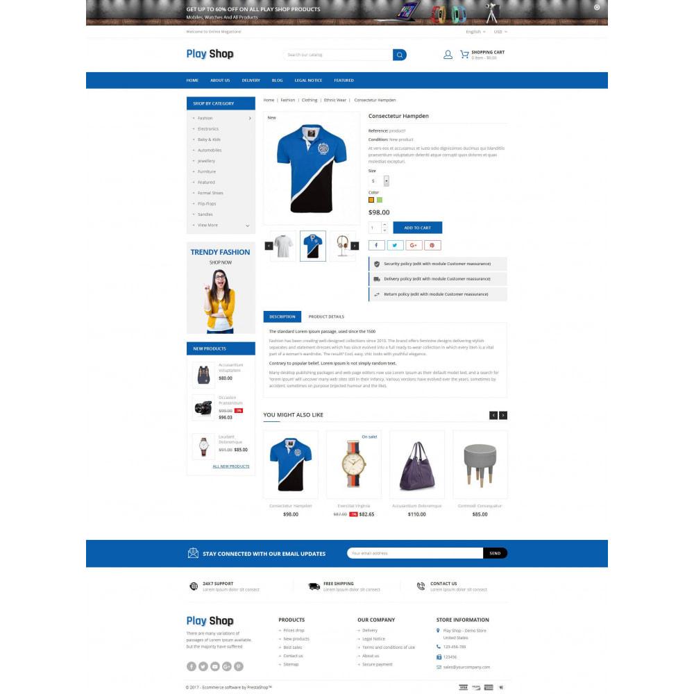 theme - Fashion & Shoes - PlayShop - Multipurpose Store - 5