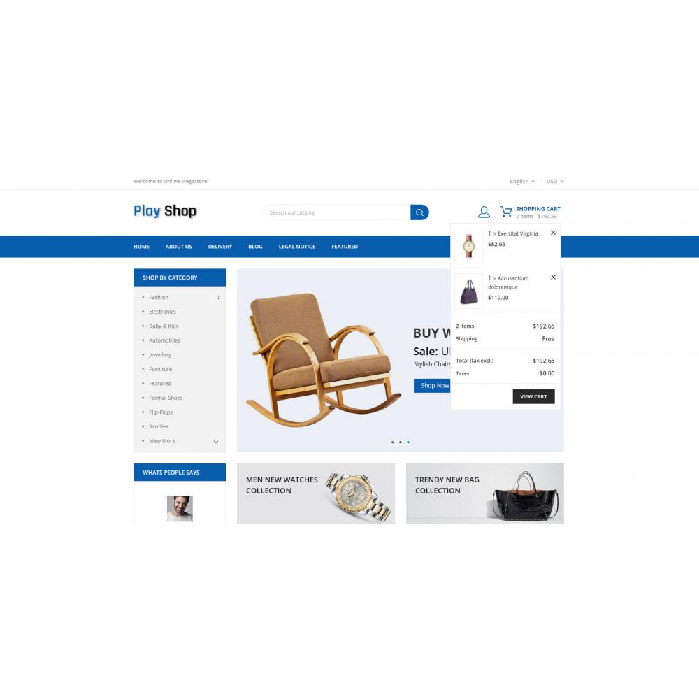 theme - Fashion & Shoes - PlayShop - Multipurpose Store - 6