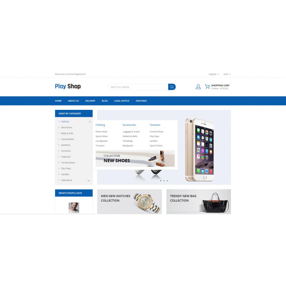 theme - Fashion & Shoes - PlayShop - Multipurpose Store - 8