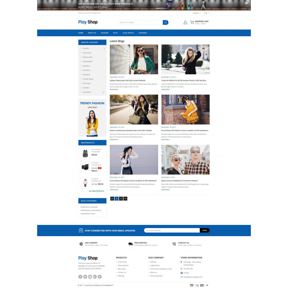theme - Fashion & Shoes - PlayShop - Multipurpose Store - 9