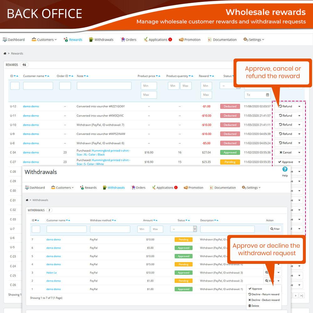 module - Uitverkoop & Besloten verkoop - Wholesale B2B - 16