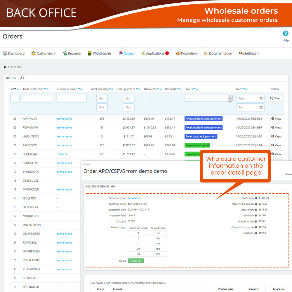 module - Uitverkoop & Besloten verkoop - Wholesale B2B - 17