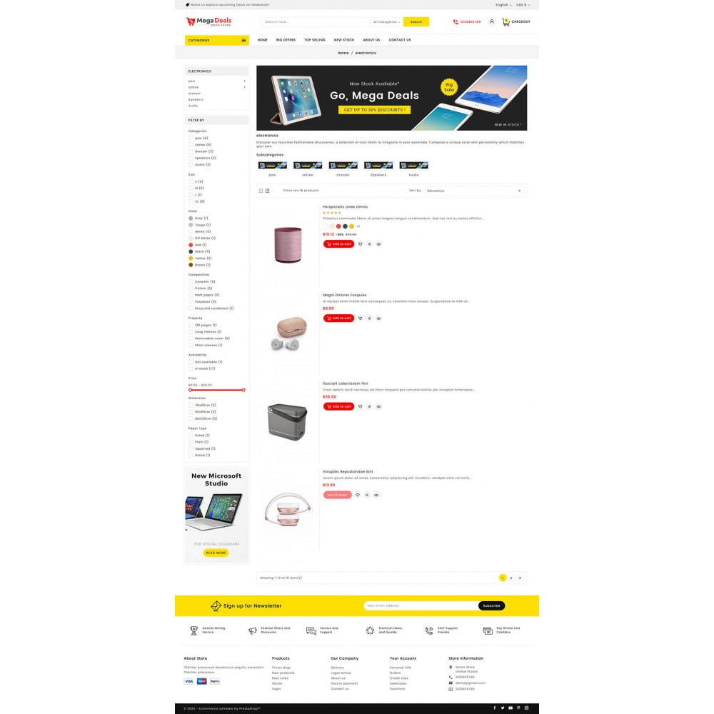 theme - Elektronik & High Tech - Mega Deals - Multi-purpose Mega Store - 14