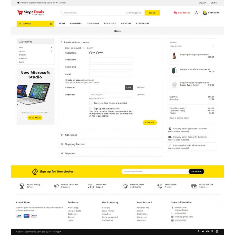 theme - Elektronik & High Tech - Mega Deals - Multi-purpose Mega Store - 17