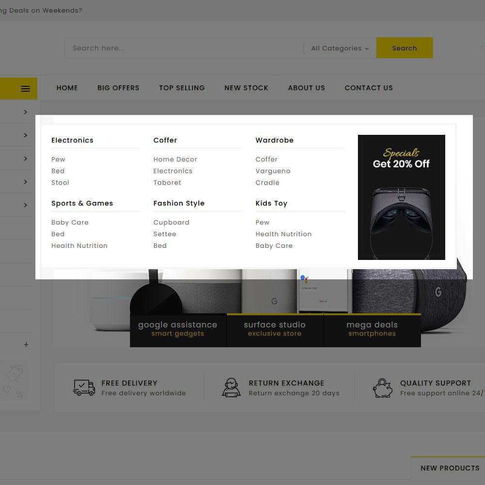 theme - Elektronik & High Tech - Mega Deals - Multi-purpose Mega Store - 19
