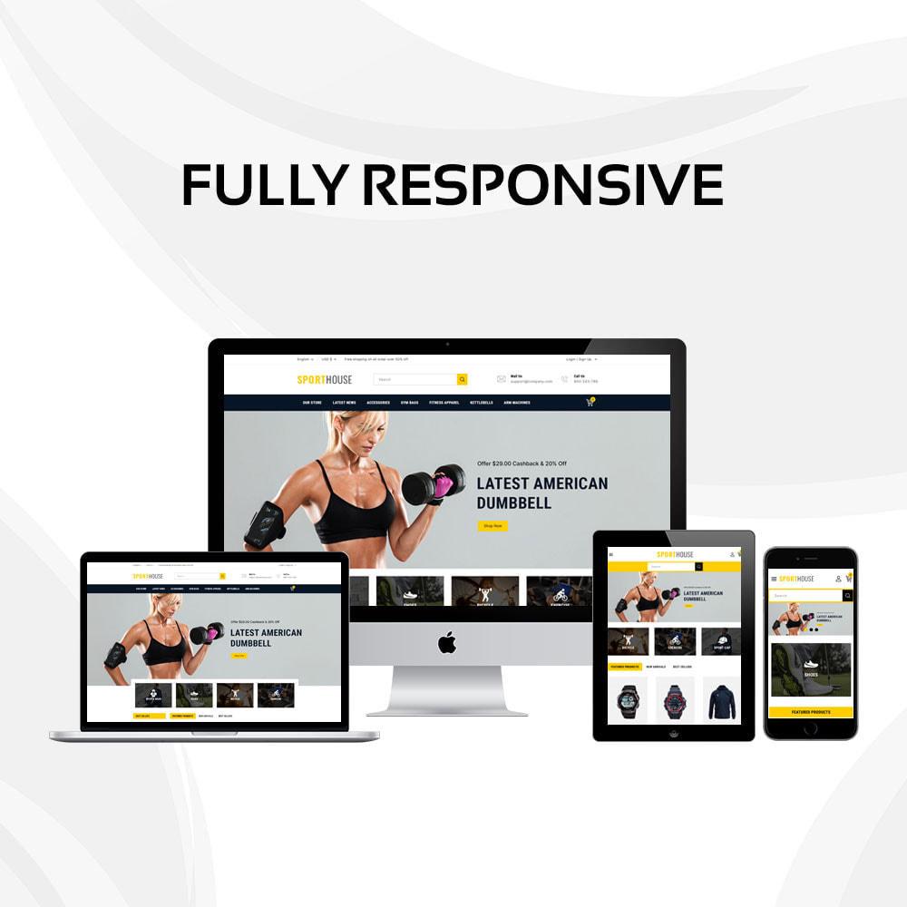 theme - Deportes, Actividades y Viajes - Sport House Tienda de deportes en línea - 2