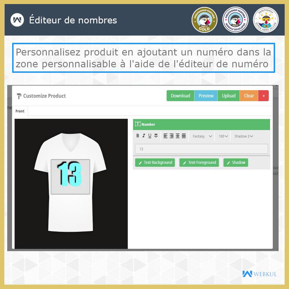 module - Déclinaisons & Personnalisation de produits - Web à Imprimer - Personnaliser le Produit - 4