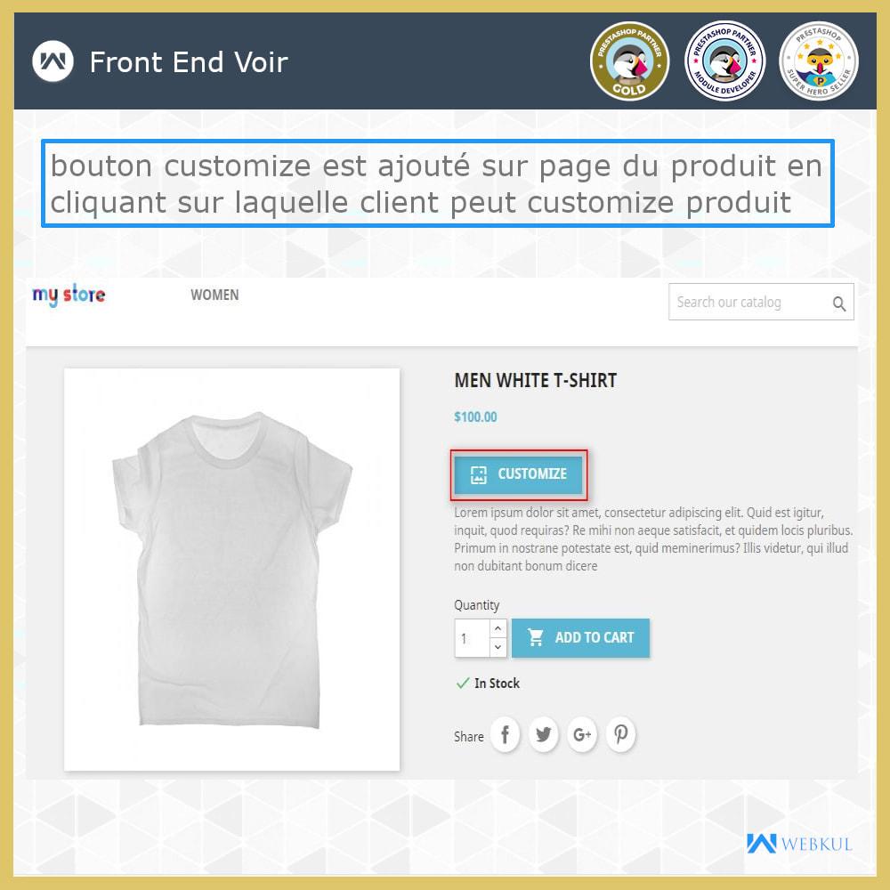 module - Déclinaisons & Personnalisation de produits - Web à Imprimer - Personnaliser le Produit - 5