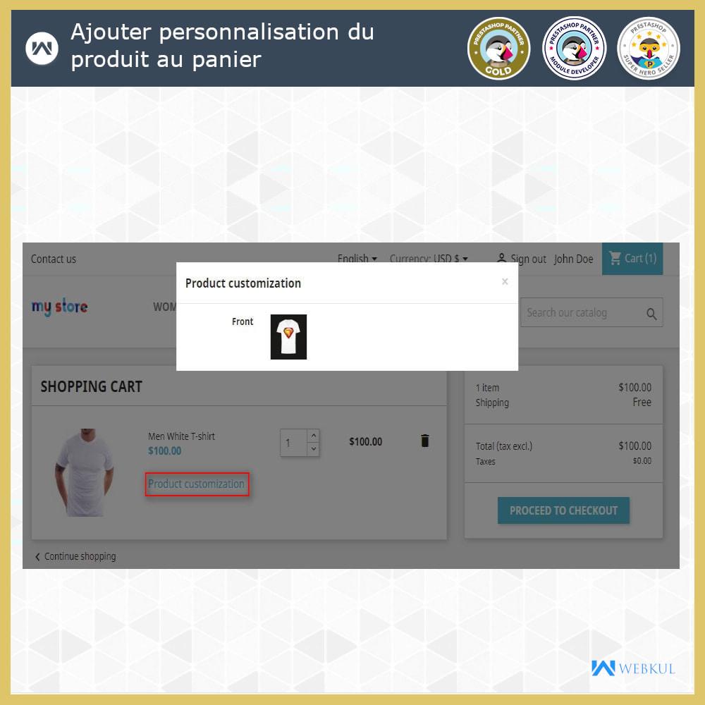 module - Déclinaisons & Personnalisation de produits - Web à Imprimer - Personnaliser le Produit - 7