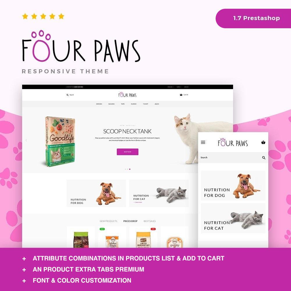 theme - Животные и домашние питомцы - Four paws - 1