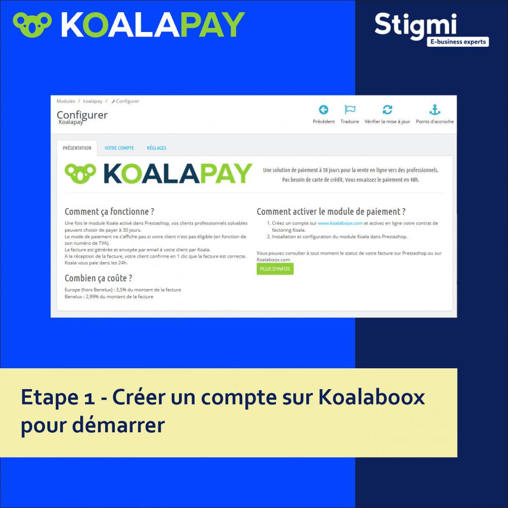 module - Paiement par Facture - KoalaPay – Paiement B2B à 30 jours & avance sur facture - 3