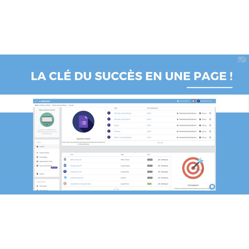 module - Fidélisation & Parrainage - e-satisfaction.com - Du feedback à la fidélisation! - 6