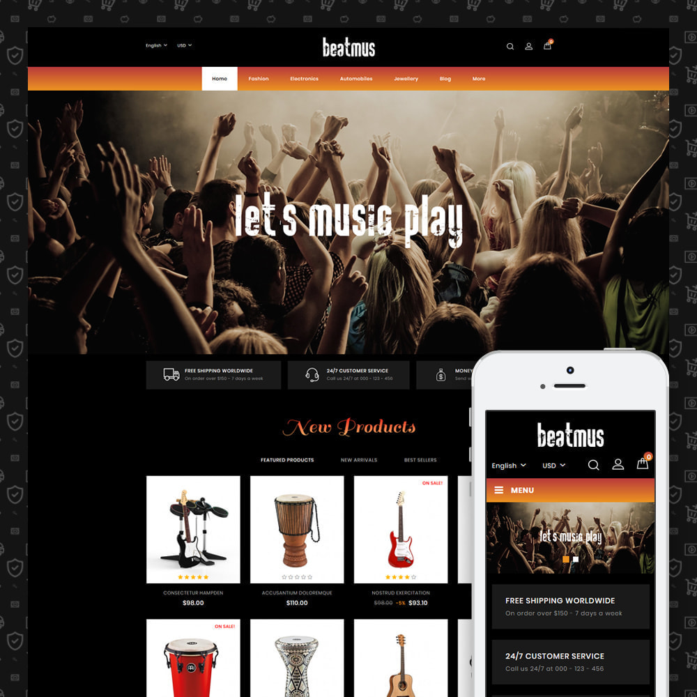 theme - Kunst & Kultur - Beatmus - Musical Instrument Store - 1