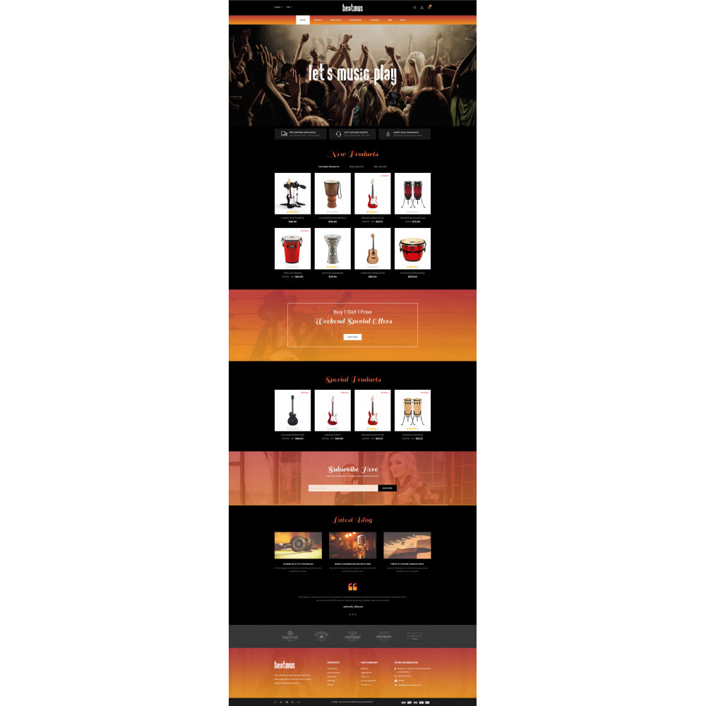 theme - Kunst & Kultur - Beatmus - Musical Instrument Store - 2