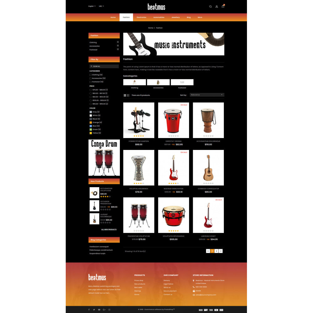 theme - Kunst & Kultur - Beatmus - Musical Instrument Store - 3