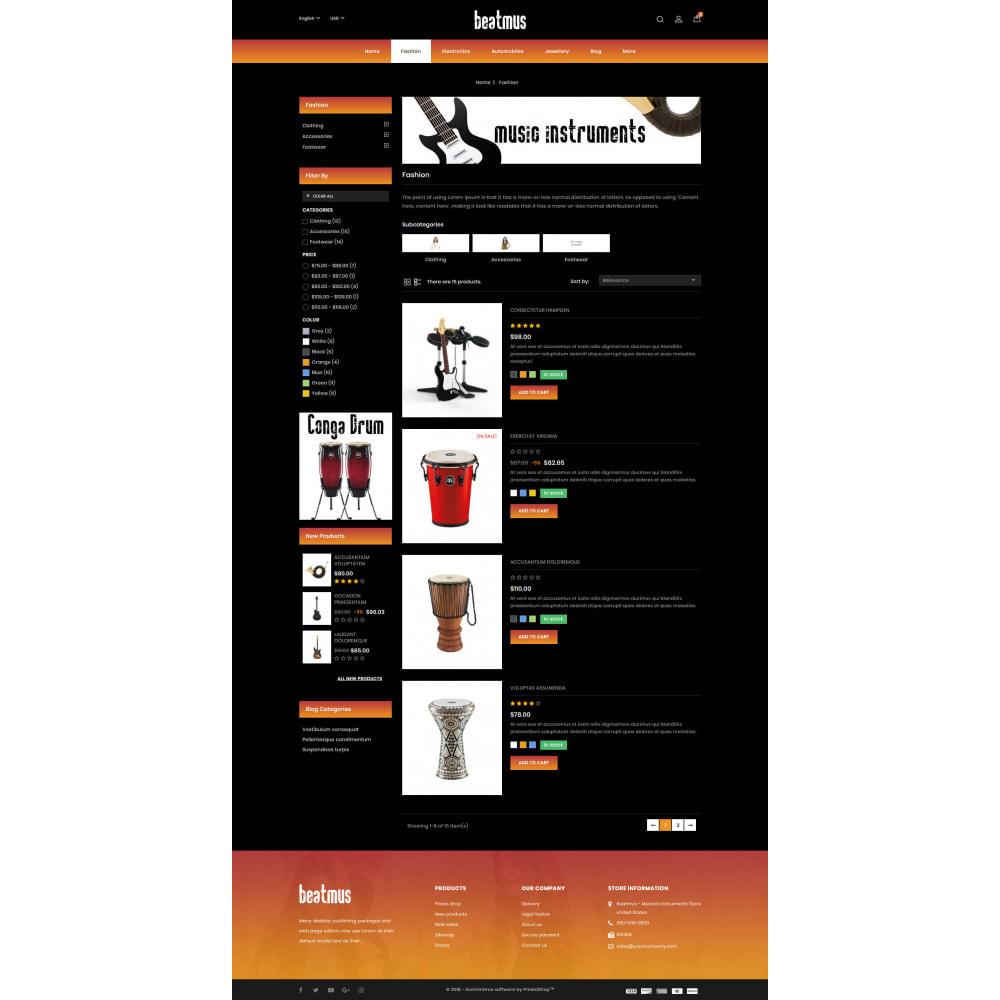theme - Kunst & Kultur - Beatmus - Musical Instrument Store - 4
