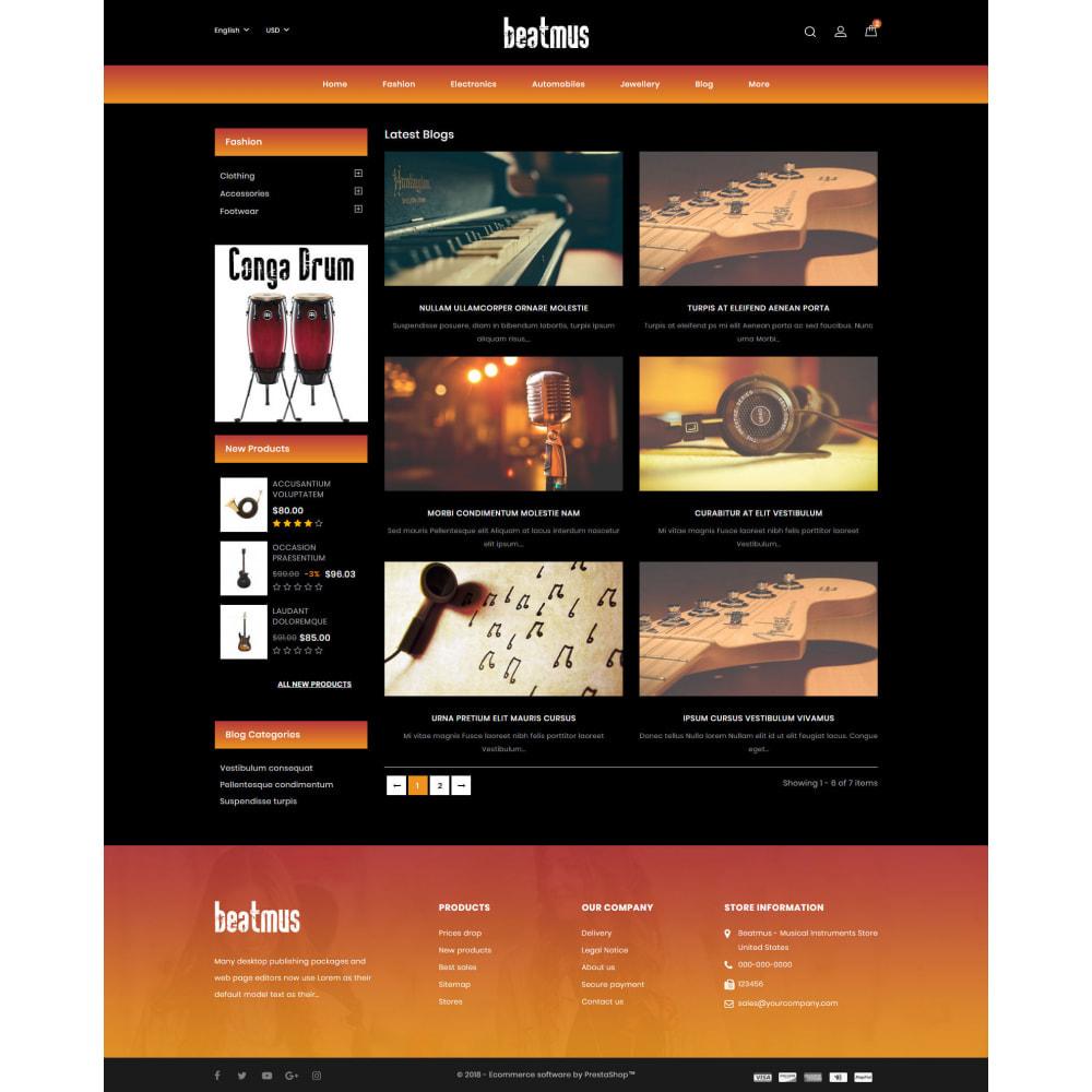 theme - Kunst & Kultur - Beatmus - Musical Instrument Store - 9