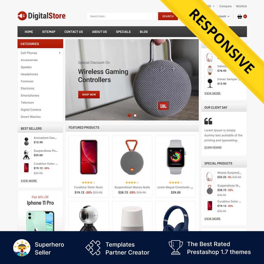 theme - Elektronika & High Tech - Digital Electronics Store - 1