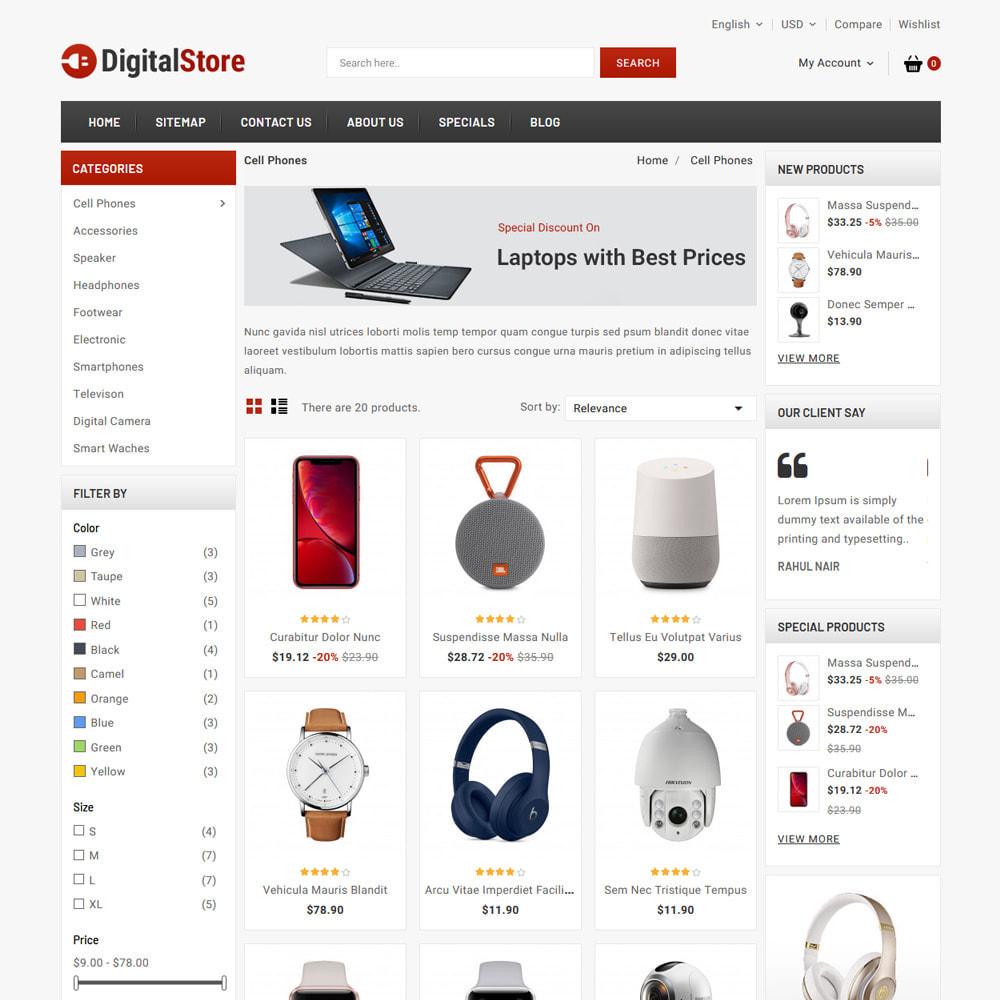 theme - Elektronika & High Tech - Digital Electronics Store - 3