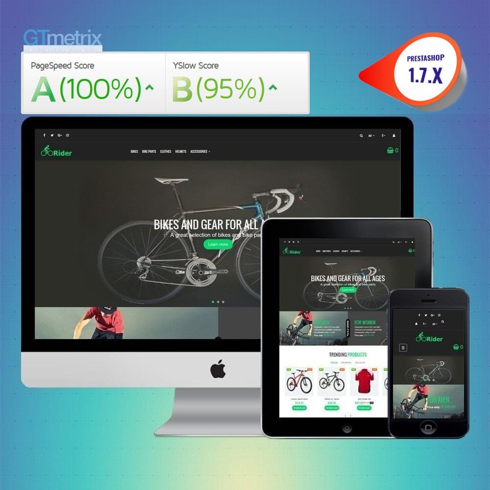 theme - Sport, Aktivitäten & Reise - VP_Rider - Page Builder - 1