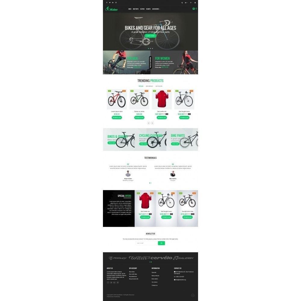 theme - Sport, Aktivitäten & Reise - VP_Rider - Page Builder - 2